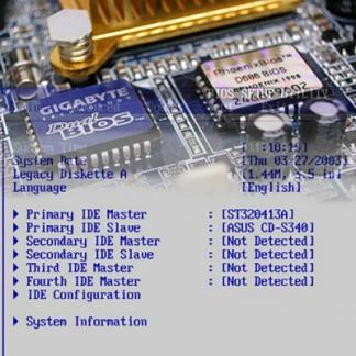 Прошивка BIOS