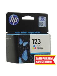 Заправка цветного картриджа HP 123