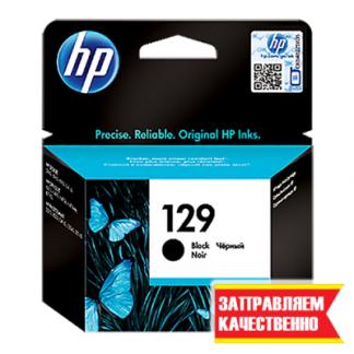 Заправка черного картриджа HP 129